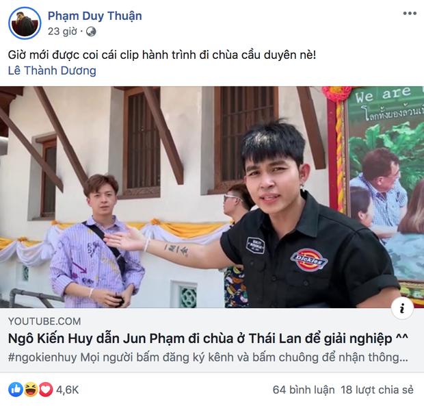 Bắt quả tang Ngô Kiến Huy và Jun Phạm rủ nhau đi mảnh sang Bangkok lên chùa để... cầu duyên - Ảnh 5.