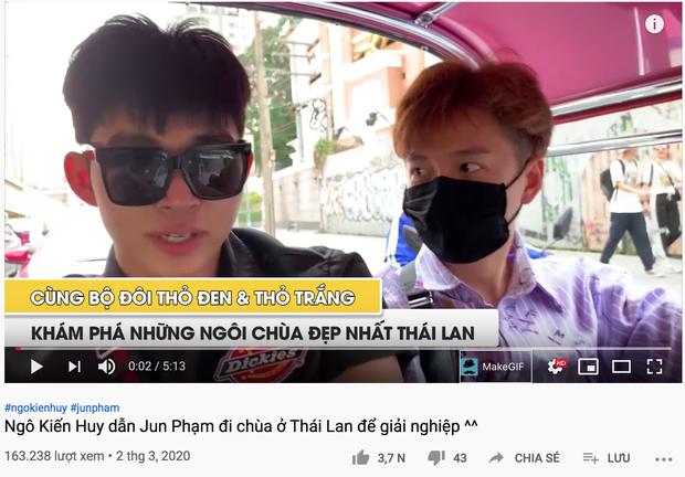 Bắt quả tang Ngô Kiến Huy và Jun Phạm rủ nhau đi mảnh sang Bangkok lên chùa để... cầu duyên - Ảnh 4.