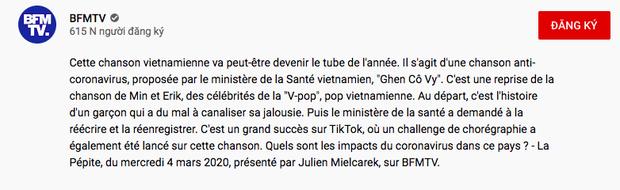 Sau truyền hình Mỹ, tạp chí Billboard, UNICEF, Ghen Cô Vy tiếp tục công phá đài truyền hình Pháp và hàng loạt trang tin quốc tế - Ảnh 5.
