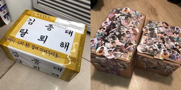 SM không thèm nhận kiện hàng album bị phá nát do fan EXO gửi, netizen bực tức: người đồng tình, kẻ nói fan hóa điên, nhưng thương nhất là... người vận chuyển  - Ảnh 5.