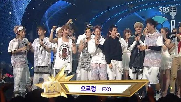 10 ca khúc ẵm nhiều cúp nhất trên show âm nhạc thập niên 2000: BTS phá kỷ lục 7 năm của PSY, tân binh 10 ngày tuổi đá văng SNSD, EXO ra khỏi top 5 - Ảnh 3.
