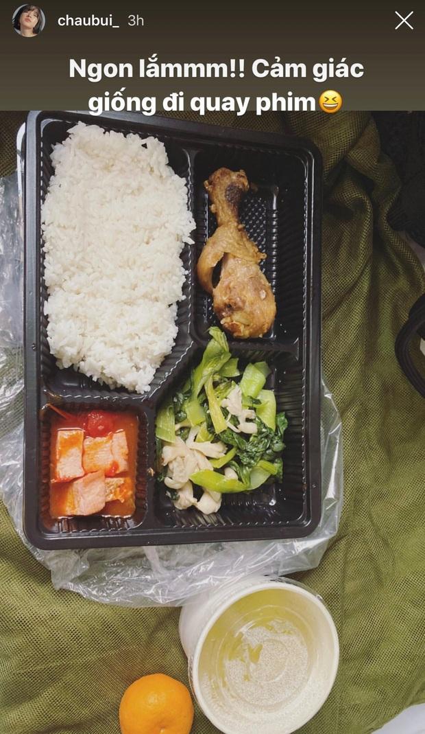 Châu Bùi update tình hình trong khu cách ly tập trung, khoe được ăn đủ chất hơn ở nhà - Ảnh 4.
