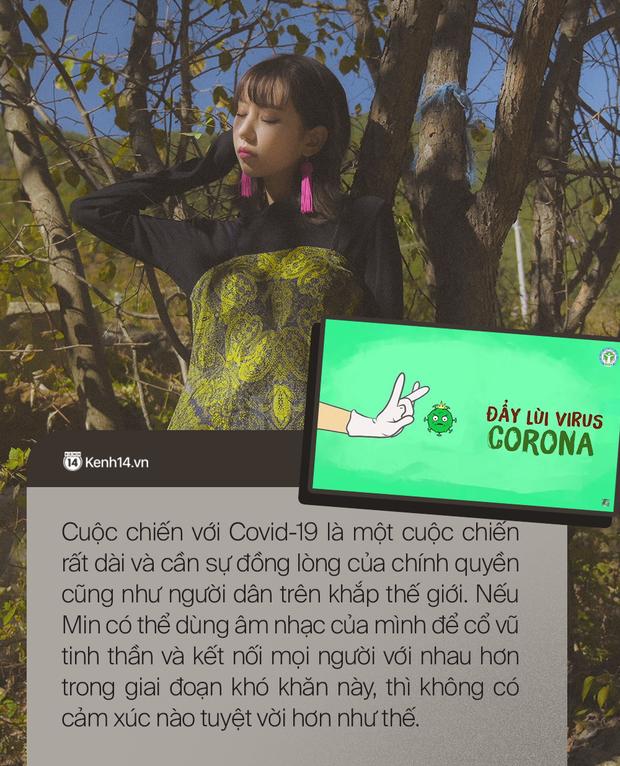 Min: Nếu ca khúc này có thể trở thành bài ca chống dịch COVID-19 chính thức trên toàn cầu thì điều đó thật tuyệt vời! - Ảnh 2.