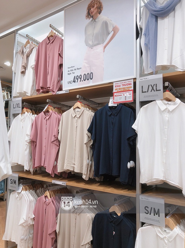 UNIQLO khai trương tại Hà Nội: Cực nhiều món đẹp xịn giá chỉ 249k - 499k, store rộng đi mỏi chân chưa xem hết đồ - Ảnh 32.