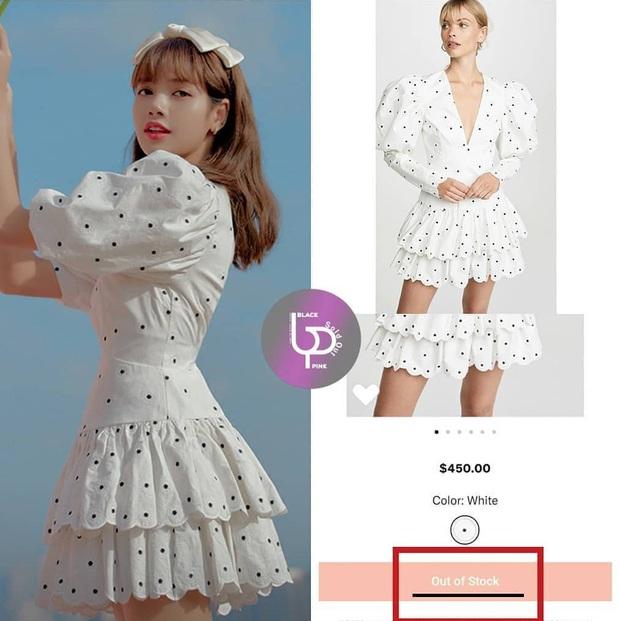 """Thành tích sold out của Black Pink xuân này: Sốc nhất là đầm ren đỏ 11 triệu mặc cực khó sang vẫn """"tẩu tán"""" nhanh lẹ nhờ Jennie - Ảnh 6."""