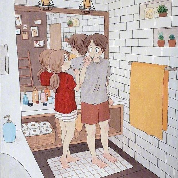 Bộ tranh: Hạnh phúc nhất trên thế gian chính là người bạn thích đúng lúc cũng thích bạn - Ảnh 11.