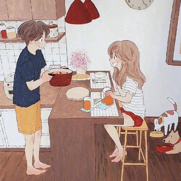 Bộ tranh: Hạnh phúc nhất trên thế gian chính là người bạn thích đúng lúc cũng thích bạn - Ảnh 9.