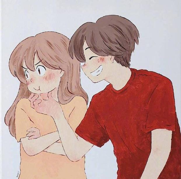 Bộ tranh: Hạnh phúc nhất trên thế gian chính là người bạn thích đúng lúc cũng thích bạn - Ảnh 13.