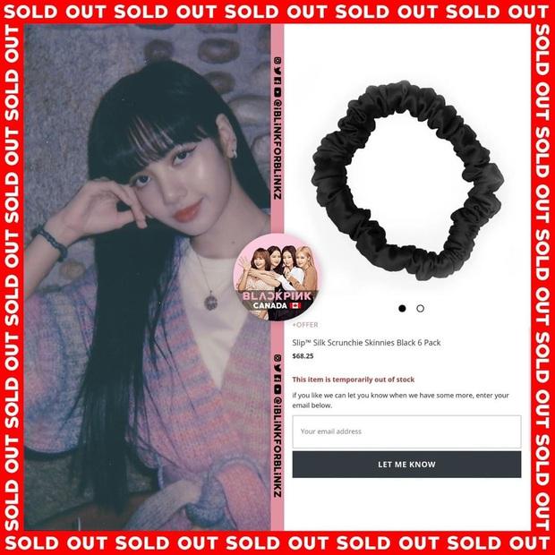 """Thành tích sold out của Black Pink xuân này: Sốc nhất là đầm ren đỏ 11 triệu mặc cực khó sang vẫn """"tẩu tán"""" nhanh lẹ nhờ Jennie - Ảnh 5."""