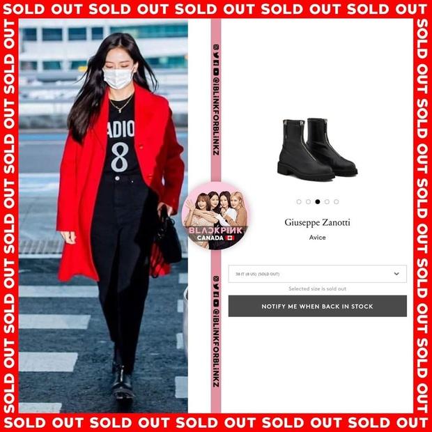 """Thành tích sold out của Black Pink xuân này: Sốc nhất là đầm ren đỏ 11 triệu mặc cực khó sang vẫn """"tẩu tán"""" nhanh lẹ nhờ Jennie - Ảnh 8."""