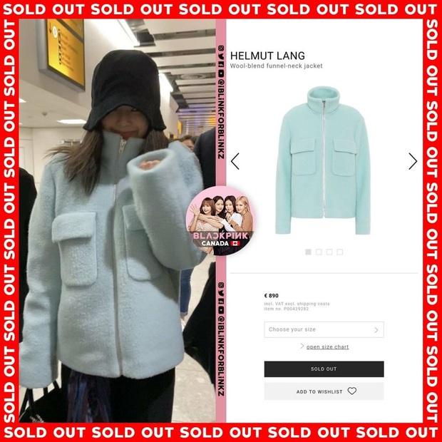 """Thành tích sold out của Black Pink xuân này: Sốc nhất là đầm ren đỏ 11 triệu mặc cực khó sang vẫn """"tẩu tán"""" nhanh lẹ nhờ Jennie - Ảnh 1."""