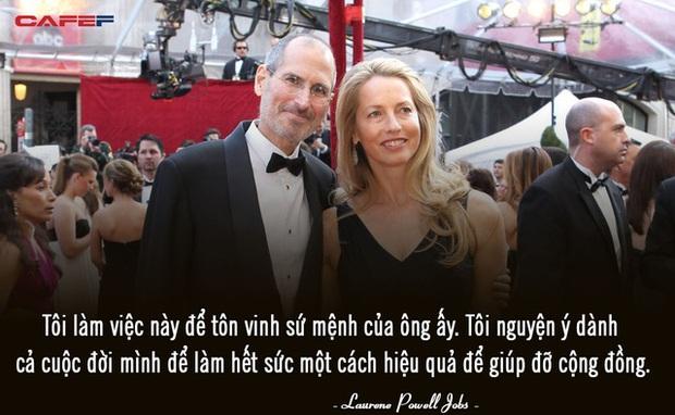 Người vợ tào khang của Steve Jobs: Tôi làm việc để tôn vinh những gì chồng để lại và sẽ dành cả đời để thực hiện điều đó - Ảnh 1.