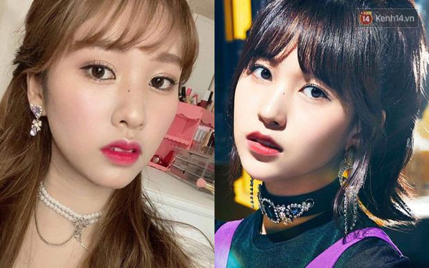 Cả thiên hạ ra đây mà xem, Mina (Twice) có chị em sinh đôi không cùng huyết thống chỉ nhờ thủ thuật makeup đây này - Ảnh 1.