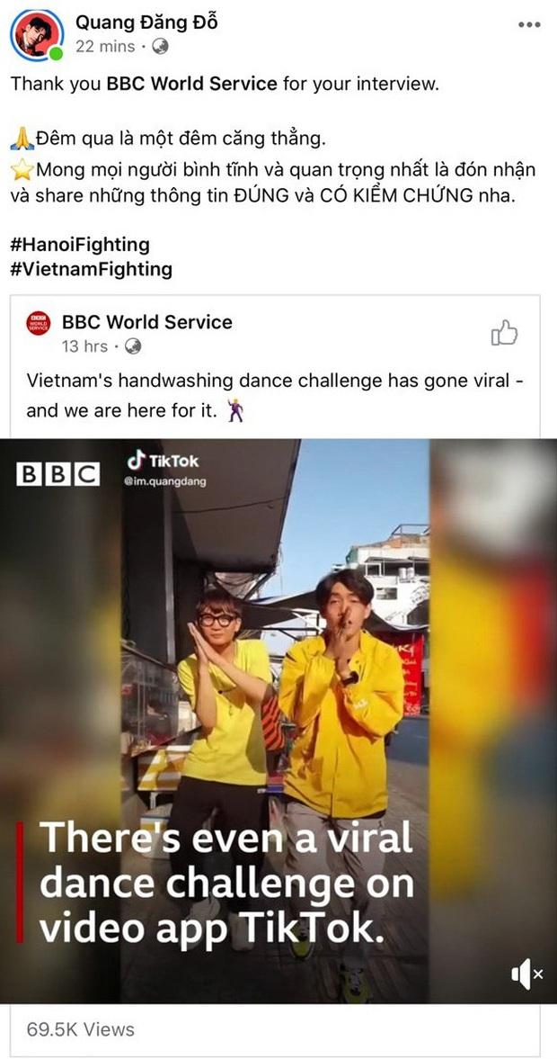 Cơn sốt Ghen cô Vy vẫn chưa hạ nhiệt, Quang Đăng lên hẳn BBC phỏng vấn: Đây là lúc âm nhạc giúp gắn kết mọi người - Ảnh 4.