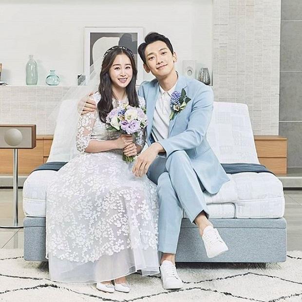 Sau 3 năm kết hôn, Kim Tae Hee và Bi Rain bất ngờ chụp ảnh cưới, khiến fan bấn loạn - Ảnh 2.