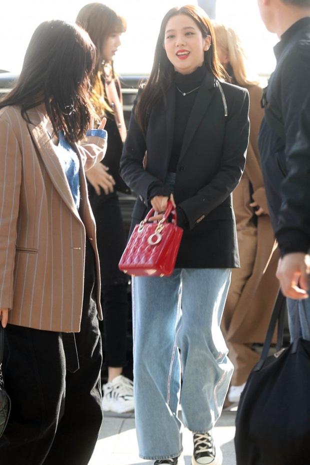 4 kiểu quần chân ái của Jisoo (Black Pink): Sành điệu miễn bàn mà hack dáng siêu ổn, nàng cao quanh 1m60 rất nên lưu tâm - Ảnh 2.