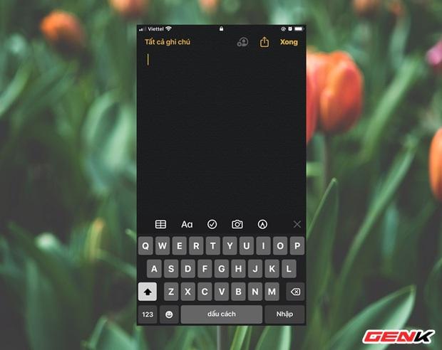 """Cách kích hoạt và sử dụng tính năng """"Ghi chú tức thời"""" trên iPhone, tiện tay không kém Galaxy Note - Ảnh 11."""