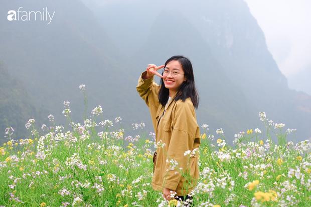 Hà Giang tháng 3 đẹp mê hồn trong mắt cô gái trẻ xứ Thanh, thật khó tin khi 4 loài hoa núi rừng đủ sắc màu cùng nở một lúc - Ảnh 3.