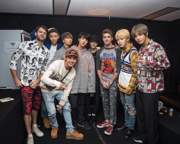 """Những lần BTS """"bắt tay"""" sao US-UK: Bài vào BXH Billboard, giúp nhóm diễn ở Grammy, bài tưởng thành hit """"khủng"""" lại flop - Ảnh 2."""
