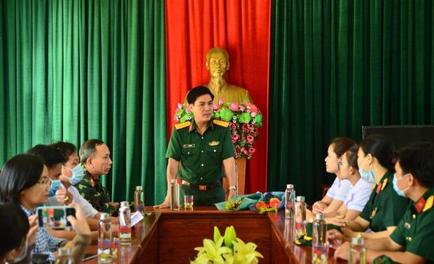 Ngày 8/3 đặc biệt của chị em tại khu cách ly phòng dịch Covid-19 ở Đà Nẵng - Ảnh 6.