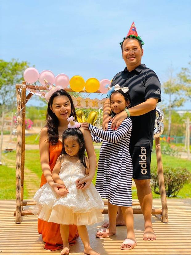 Phạm Quỳnh Anh và Quang Huy gây chú ý khi lại tái ngộ trong dịp sinh nhật con gái út: Ly hôn nhưng vẫn mãi là gia đình! - Ảnh 2.