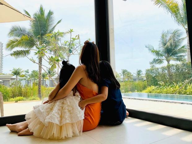 Phạm Quỳnh Anh và Quang Huy gây chú ý khi lại tái ngộ trong dịp sinh nhật con gái út: Ly hôn nhưng vẫn mãi là gia đình! - Ảnh 5.