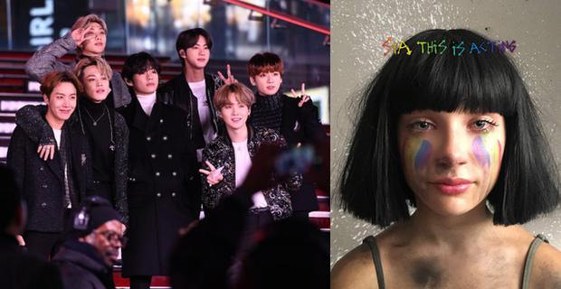 """Những lần BTS """"bắt tay"""" sao US-UK: Bài vào BXH Billboard, giúp nhóm diễn ở Grammy, bài tưởng thành hit """"khủng"""" lại flop - Ảnh 20."""