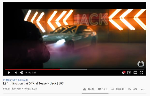 Jack tuyên bố không chiêu trò trong lần trở lại đường đua âm nhạc, teaser Là 1 Thằng Con Trai lại không bùng nổ như kì vọng? - Ảnh 3.