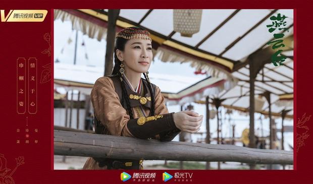 Đường Yên - Xa Thi Mạn so kè nhan sắc trong poster Yến Vân Đài: Ai tin một người mẹ bỉm sữa, một người U50? - Ảnh 2.