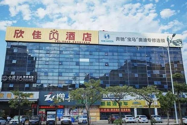 Sập khách sạn dùng làm nơi cách ly hàng chục người nghi nhiễm virus corona ở Trung Quốc - Ảnh 1.