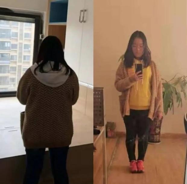 Từng cắn răng cố gắng giảm cân, cô gái trẻ người Trung giảm thành công hơn 16kg, hưởng thụ chế độ ăn kiêng - Ảnh 1.