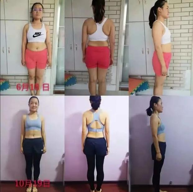 Từng cắn răng cố gắng giảm cân, cô gái trẻ người Trung giảm thành công hơn 16kg, hưởng thụ chế độ ăn kiêng - Ảnh 2.