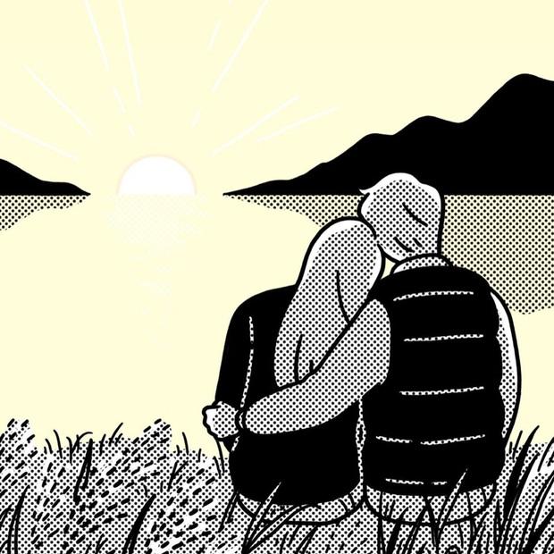 Bộ tranh: Giữa cuộc đời dài rộng, có một người để tay nắm tay trên mọi chuyến đi là cảm giác như thế nào? - Ảnh 13.