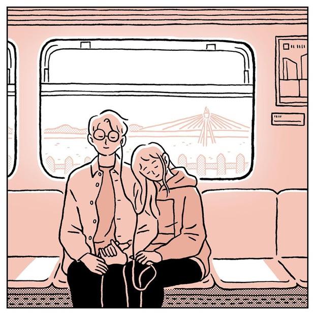 Bộ tranh: Giữa cuộc đời dài rộng, có một người để tay nắm tay trên mọi chuyến đi là cảm giác như thế nào? - Ảnh 15.