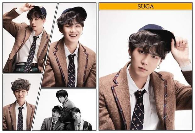 Suga nhìn giống ông cụ non nhất BTS nhưng thở ra câu nào là mặn câu đó! - Ảnh 2.