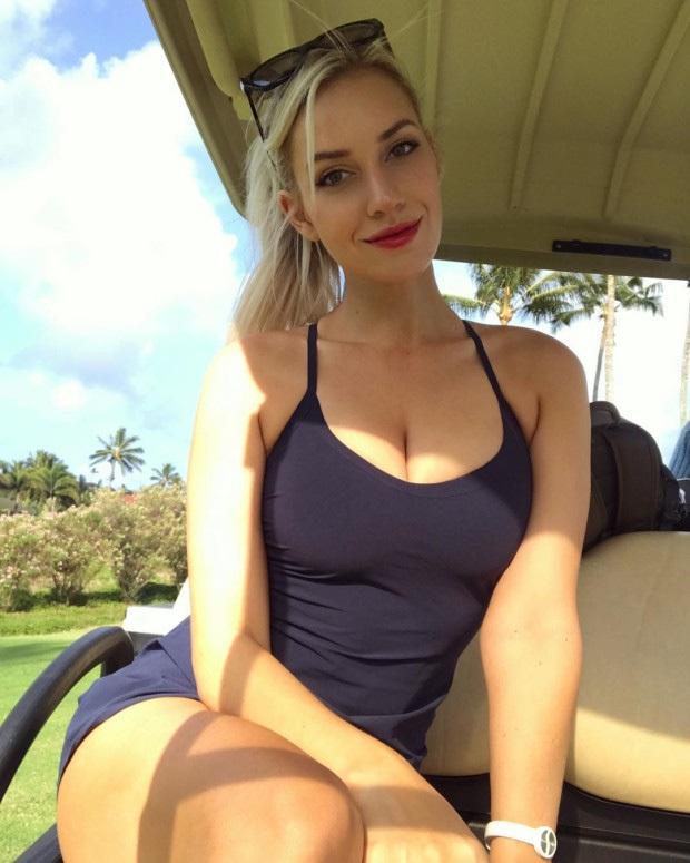 Nữ VĐV golf nóng bỏng, xinh đẹp nhất hành tinh kêu trời vì không được cho đi làm từ thiện: Họ từ chối vì tôi mặc quá gợi cảm! - Ảnh 1.