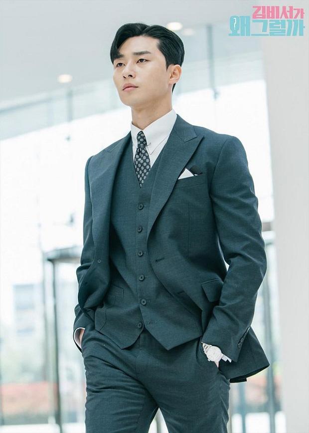 Stylist phương nào đã hại Park Seo Joon, mọi khi cool ngầu là thế nay lại ăn vận sến rện lôm côm thế này? - Ảnh 4.