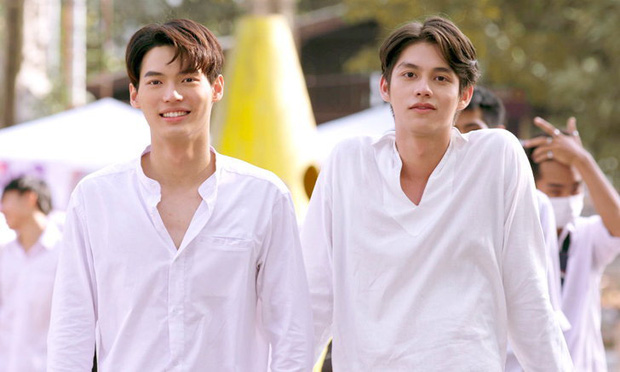 Phim đam mỹ Thái Lan siêu ngọt gây sốt màn ảnh Trung Quốc vì trò cướp bánh ngay trên môi - Ảnh 3.