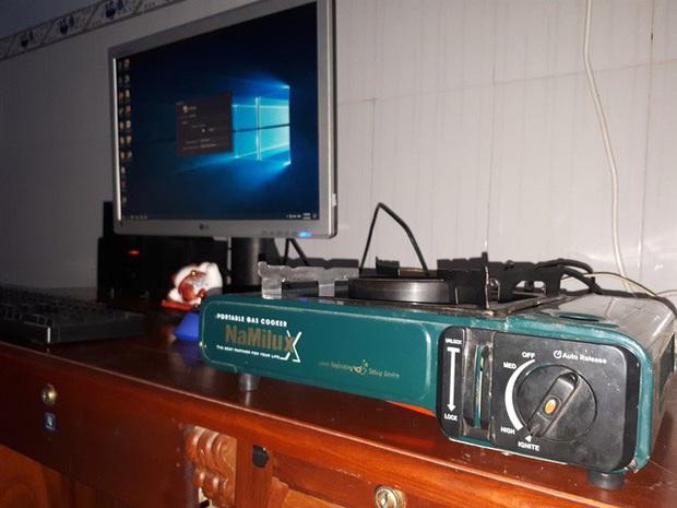 Chết cười với bộ PC bếp ga mini do chính game thủ Việt lắp ráp - Ảnh 3.