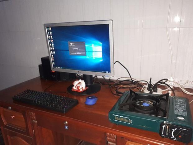 Chết cười với bộ PC bếp ga mini do chính game thủ Việt lắp ráp - Ảnh 6.