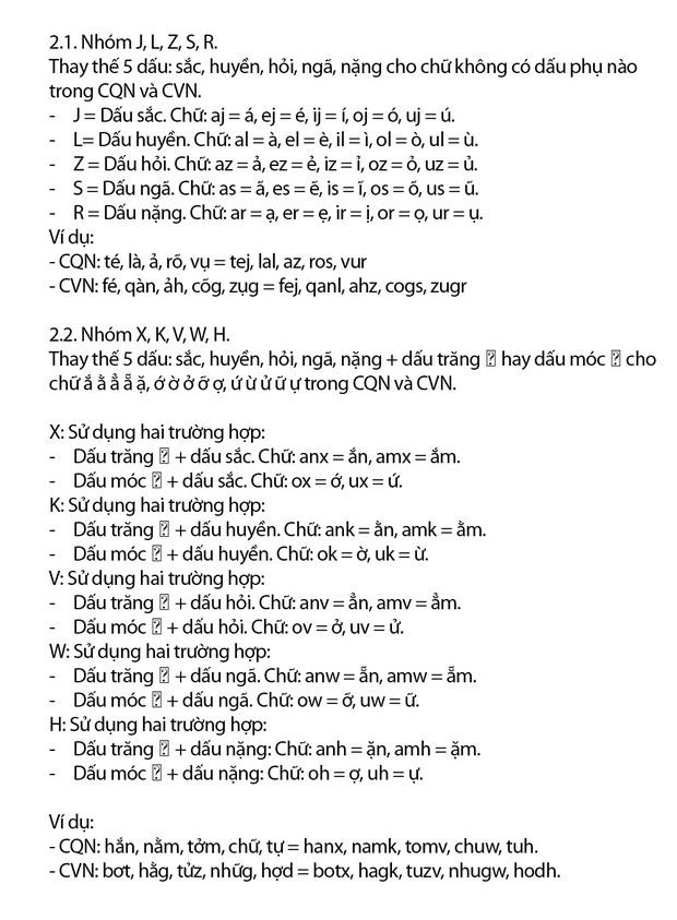 """""""Chữ Việt Nam song song 4.0"""" vừa được cấp bản quyền gây bão MXH thực chất là gì? Có gì mới? - Ảnh 7."""