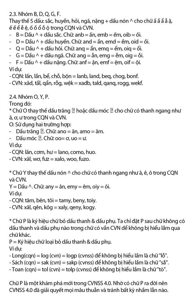 """""""Chữ Việt Nam song song 4.0"""" vừa được cấp bản quyền gây bão MXH thực chất là gì? Có gì mới? - Ảnh 8."""