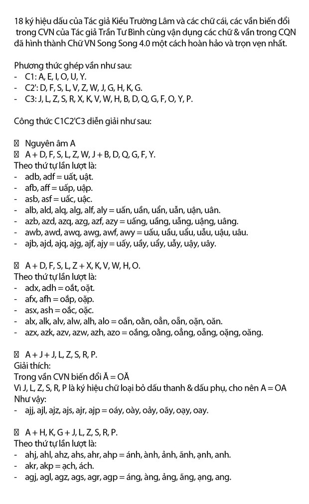 """""""Chữ Việt Nam song song 4.0"""" vừa được cấp bản quyền gây bão MXH thực chất là gì? Có gì mới? - Ảnh 12."""