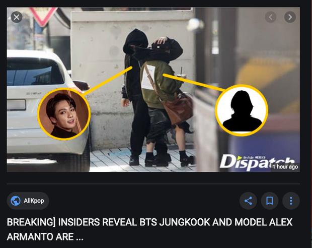 Cá tháng Tư sắp kết thúc, Jungkook (BTS) vẫn kịp dính đạn: Lộ ảnh hẹn hò, sống chung với mẫu trẻ Alex Armanto? - Ảnh 2.