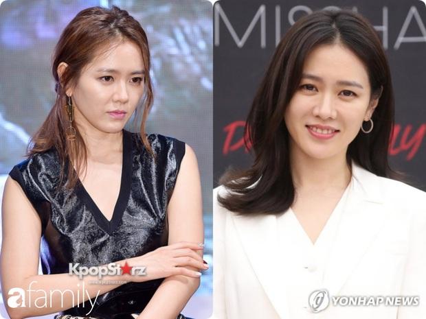 Nhan sắc tường thành như Son Ye Jin cũng có lúc bị dìm không thương tiếc chỉ vì kiểu tóc rối bời hay màu son hồng cánh sen - Ảnh 1.