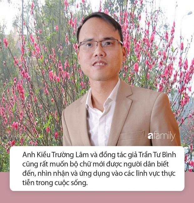 Tiếng Việt không dấu chính thức được cấp bản quyền, tác giả hy vọng chữ mới có thể được đưa vào giảng dạy cho học sinh Photo-15-158572132524416080920