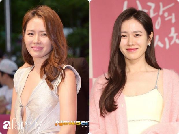 Nhan sắc tường thành như Son Ye Jin cũng có lúc bị dìm không thương tiếc chỉ vì kiểu tóc rối bời hay màu son hồng cánh sen - Ảnh 4.