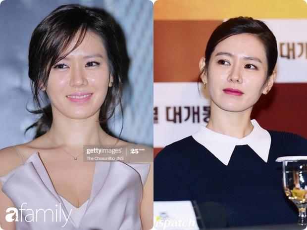 Nhan sắc tường thành như Son Ye Jin cũng có lúc bị dìm không thương tiếc chỉ vì kiểu tóc rối bời hay màu son hồng cánh sen - Ảnh 5.