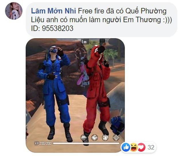 Nóng như sự kiện Free Fire, game thủ ra sức thả thính để giành lấy trang phục Lan Quế Phường siêu gợi cảm - Ảnh 6.