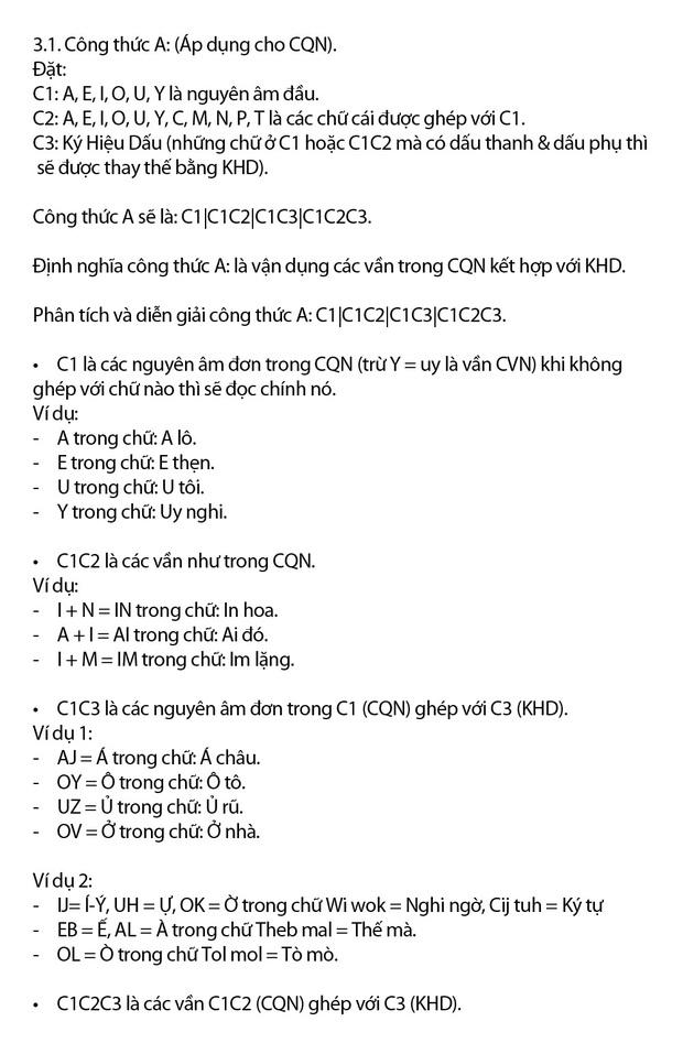 Tiếng Việt không dấu chính thức được cấp bản quyền, tác giả hy vọng chữ mới có thể được đưa vào giảng dạy cho học sinh - Ảnh 9.